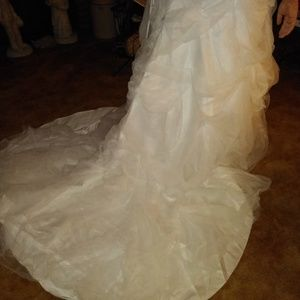 David bridal wedding dress size 20